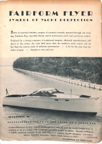 <h5>Fairform Flyer: Symbol of Yacht Perfection</h5>