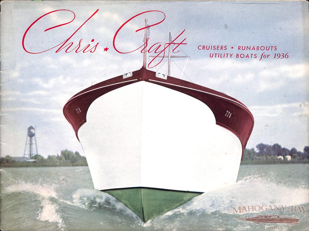 The History of Chris Craft Boats   Classic Boat Sales and Service