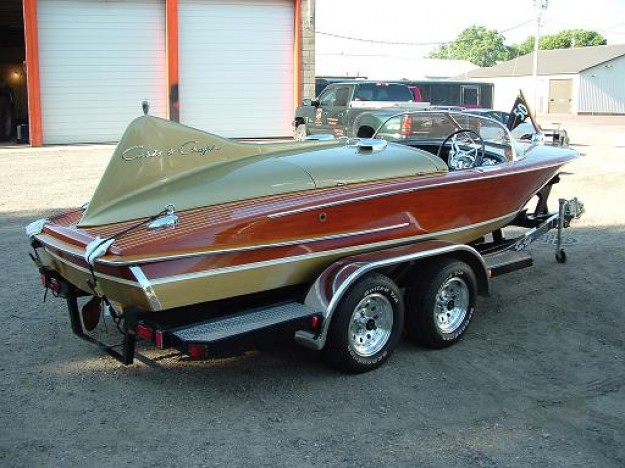 1955 18ft Chris Craft Cobra Classic Wooden Boats For