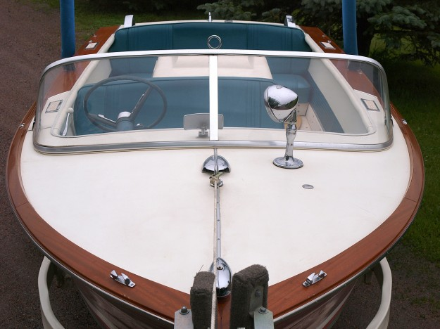 1965 Chris Craft 17ft Ski Boat Classic Wooden Boats For
