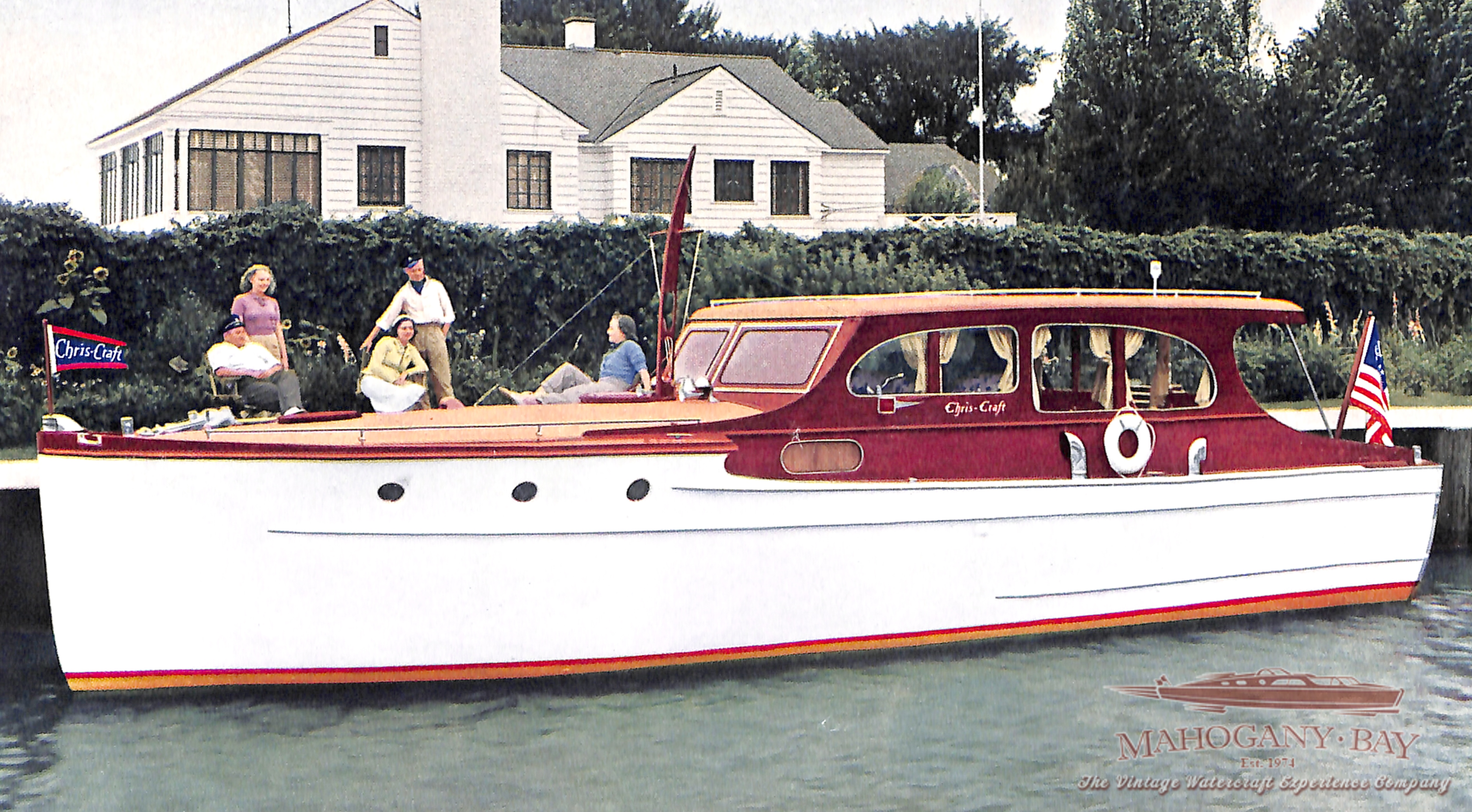 1964 Chris Craft 24' Sea Skiff Ranger | Classic Wooden Boats for