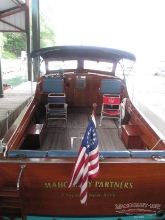 1956 36ft Hubert Johnson Cruiser Classic Wooden Boats